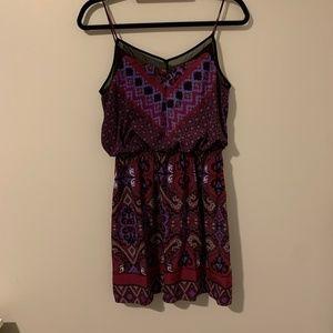 Express Purple Mini Dress